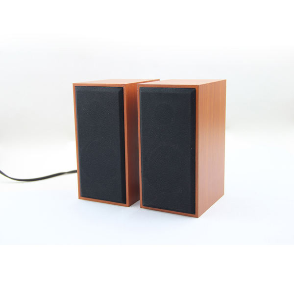 Online Kayu USB2.0 Speaker Super Bass Kayu Speaker untuk Komputer Smartphone dan Portable Audio Player
