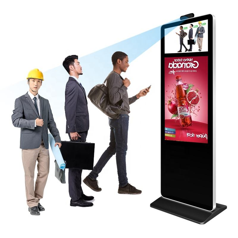 One-Stop Service [ Players ] Termometro InfrarojoTemperature Measurement Screening Kiosk Advertising Screen Digital Signage And Displays Advertising Players