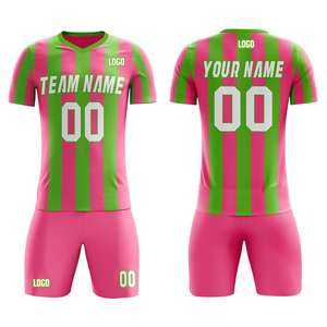 Bilin Top Quality Custom Varied Color Logo Soccer Jersey Set Dry Fit Football Soccer Jersey Blank Soccer Jersey