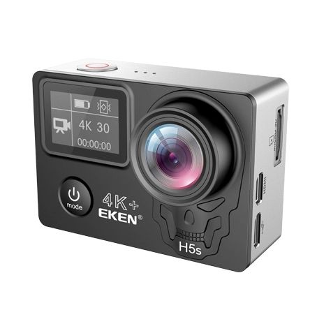 EKEN H5S Plus Action Camera HD 4K 30fps EIS with Ambarella A12 chip inside 30m waterproof 2.0' touch Screen sport camera