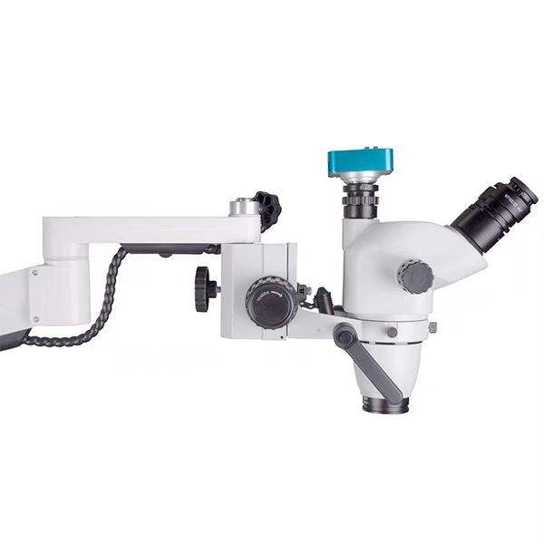 Hot Sale 2.5X-25X Adjustable Microscope Surgical Microscope/Microscope With Camera