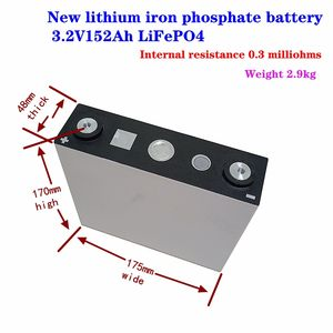 New lithium iron phosphate battery 3.2V152Ah LiFePO4