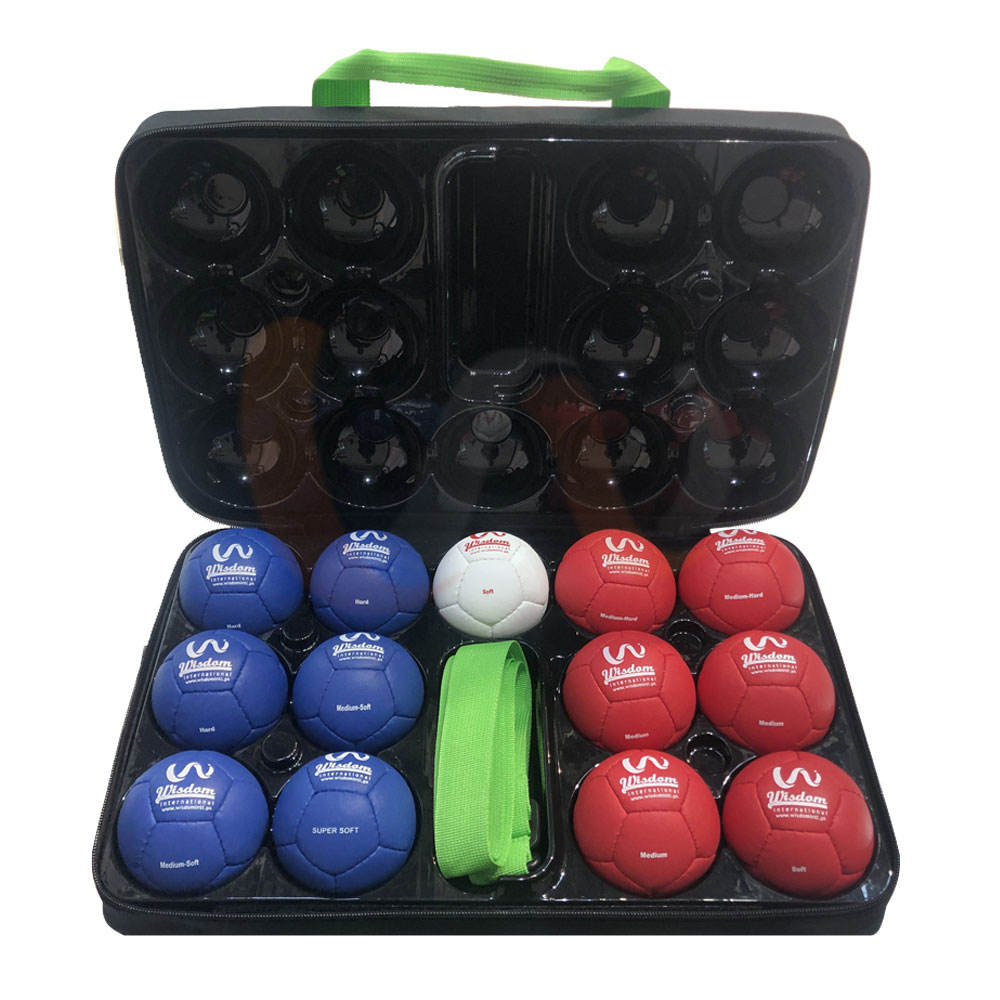 Soft Boccia Ball Set With Carrying Bag / Buy Custom Bocce Ball Set With Custom Logo