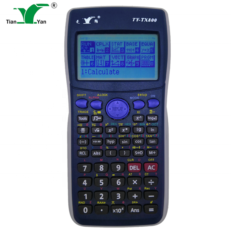 Programmable OEM <span class=keywords><strong>calculatrice</strong></span> TY-TX800 multi-fonction étudiants et professionnel grand dot <span class=keywords><strong>calculatrice</strong></span> graphique