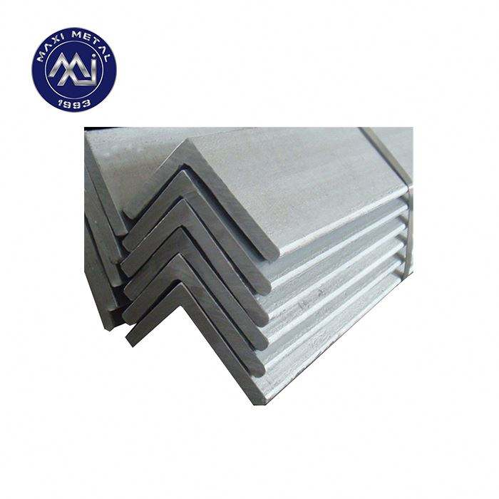 Dingin Ditarik Bar Sudut Stainless Steel/Aisi 304 No 1 Finish Panas Digulung Stainless Steel ANGEL/Stabilitas Tinggi