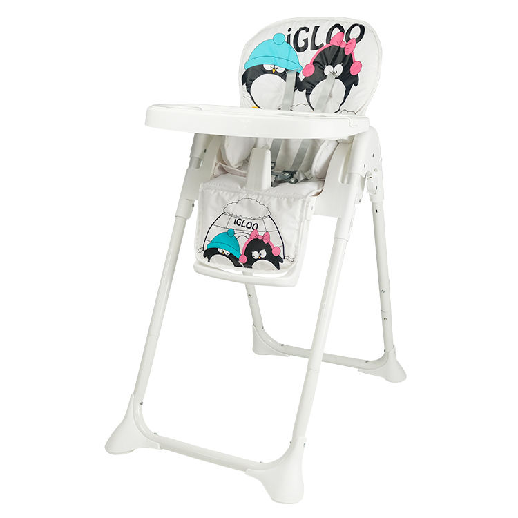 Children table seat dinner steel tube highchair feeding baby high chair