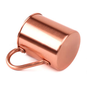 Personalized Wholesale Old Fashion Travel Gold 12Oz Coffee Mug Copper Cup High Quality Copper Mugs With Handles