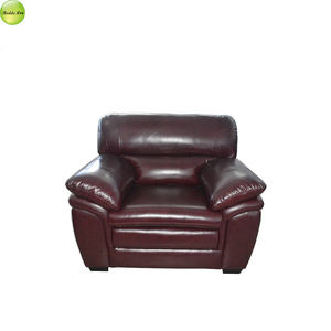 recliner double seat suede genuine leather sofa 551 #