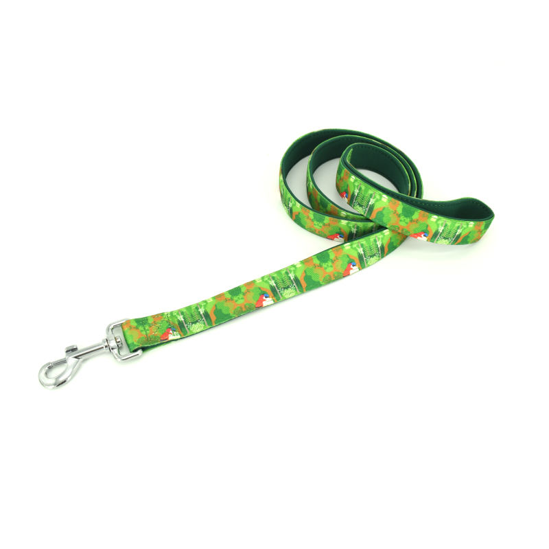China factory directly supplies dog leash pet accessories leads for dog custom pattern printed dog leash