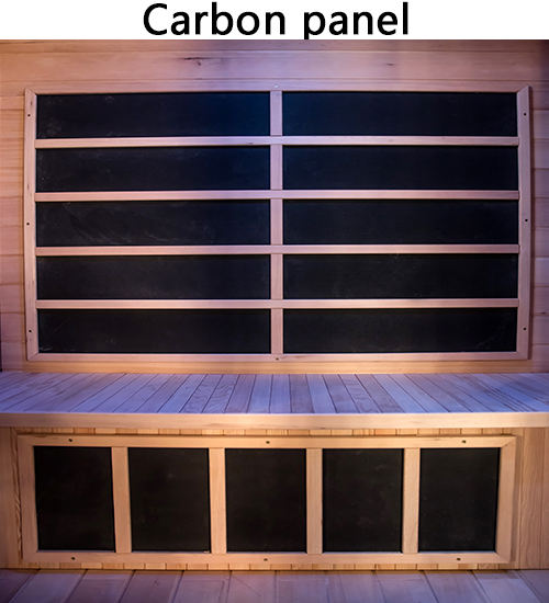 Fir sauna carbon fiber panel infrared heaters