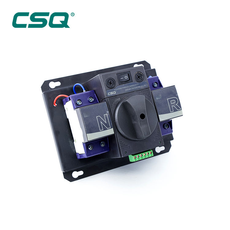 CSQ BEST 32A AUTOMATIC TRANSFER SWITCH Home use 63A ATS AC220V 380V 440V automatic Changeover switch china supplier