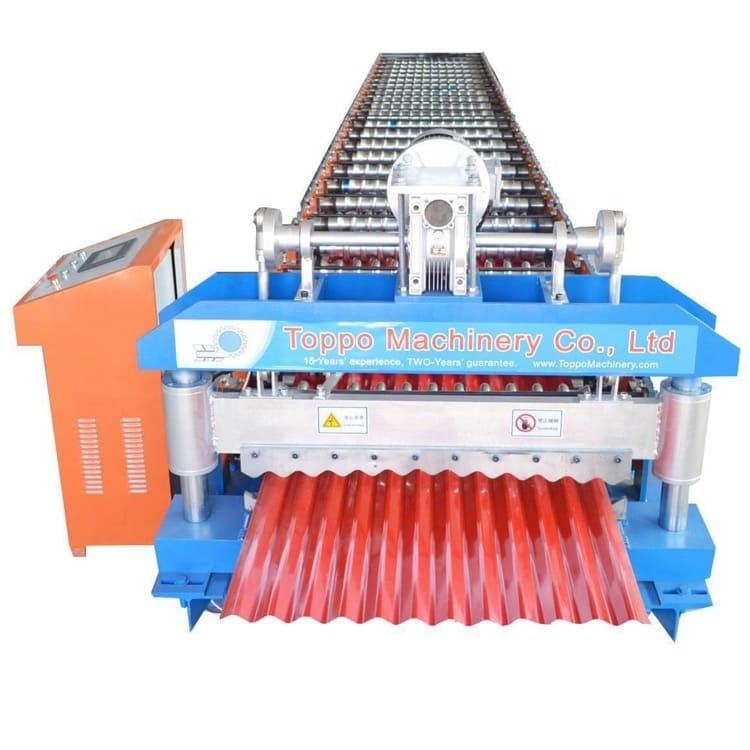 Corrugated Steel Forming Machine