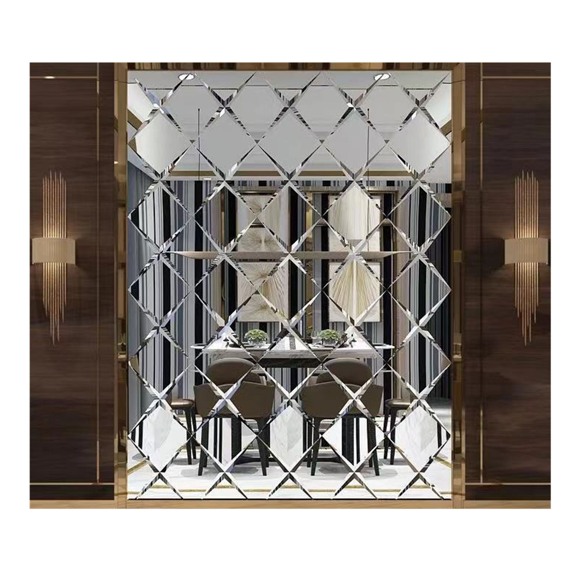 Decorative Tile Mirrors Mirror Wall Tiles Sell 4mm Silver Wall Mirror Decorative Mirror Wall Tiles