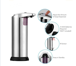 Hotel touchless sensor hand alcohol gel foam liquid soap automatic dispenser