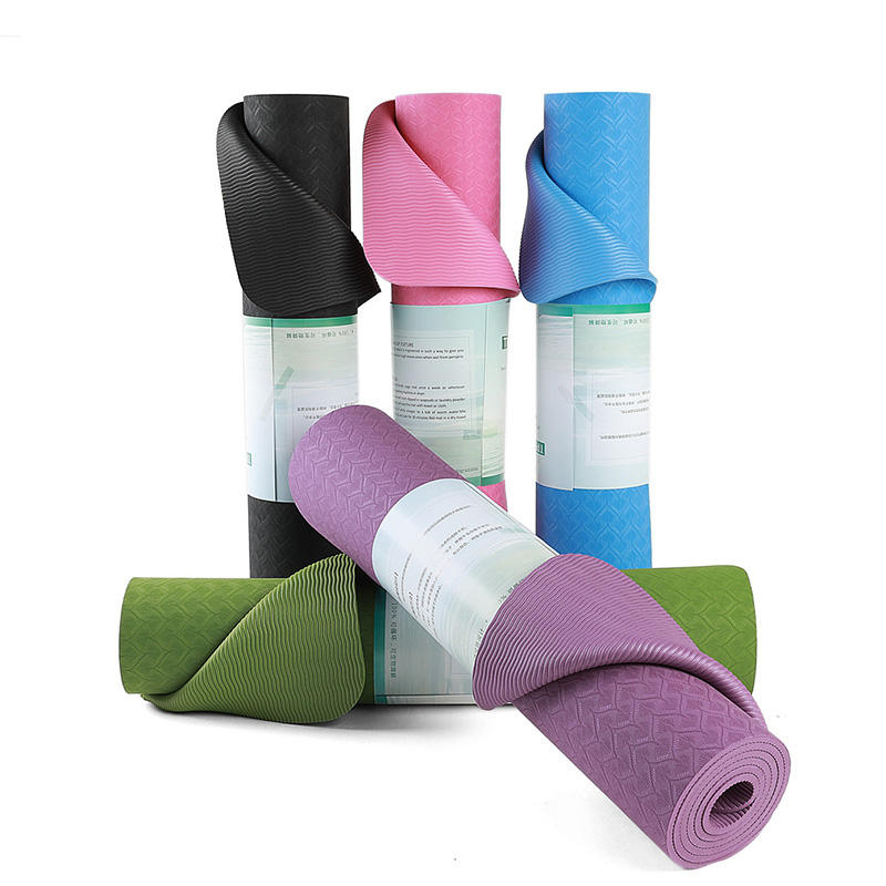 Widely Used Top Quality TPE Rubber Yoga Mat Material Rolls Wholesale China