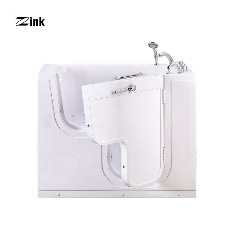 Zink K201 Walk in Tub UPC CE Approved Wheelchair Accessible for Disabled and Elderly