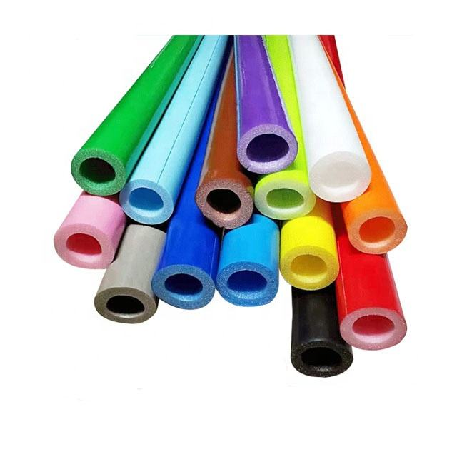 Indoor playground components/ parts/ accessories,wrap around hard object,PVC foam sleeves coated sponge tube