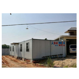 Affordable easy quick build modern prefab container housing unit made in china modular prefab luxury container house
