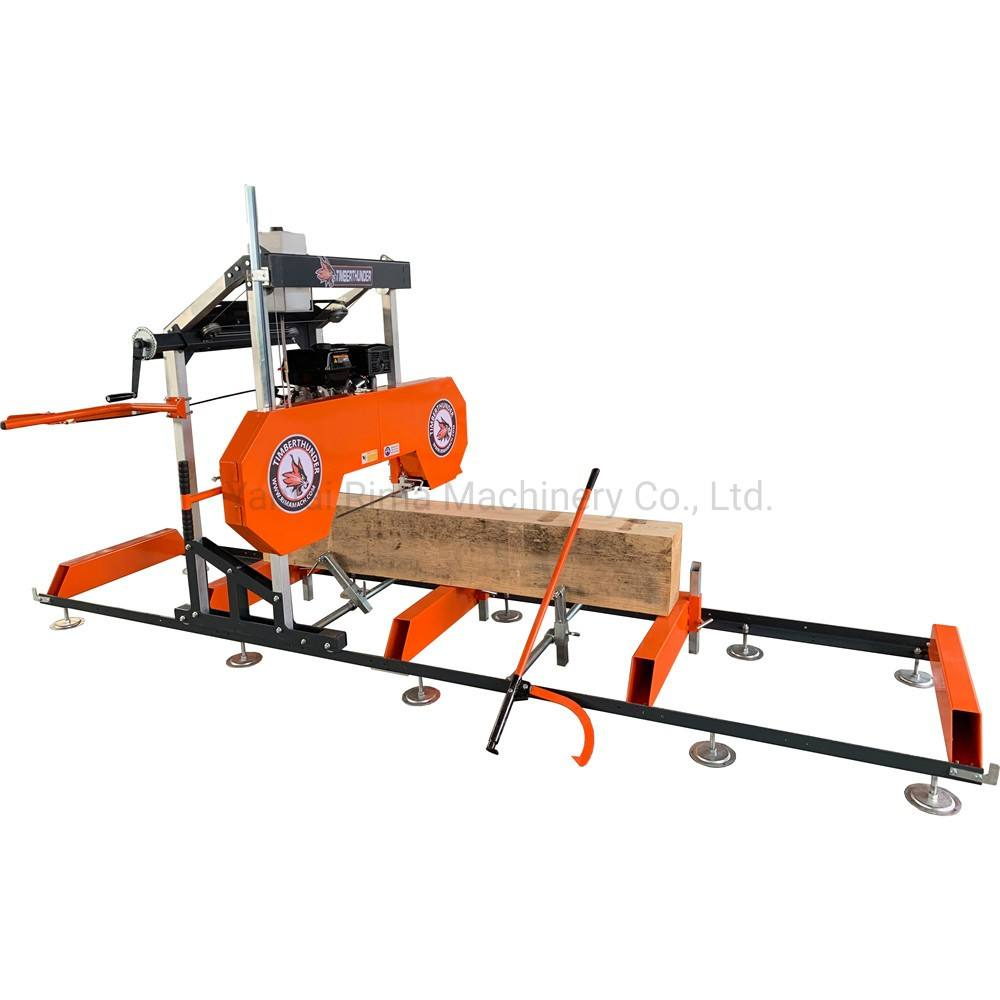 portable swing blade sawmill / bandsaw sawmill / wood cutting band saw machine