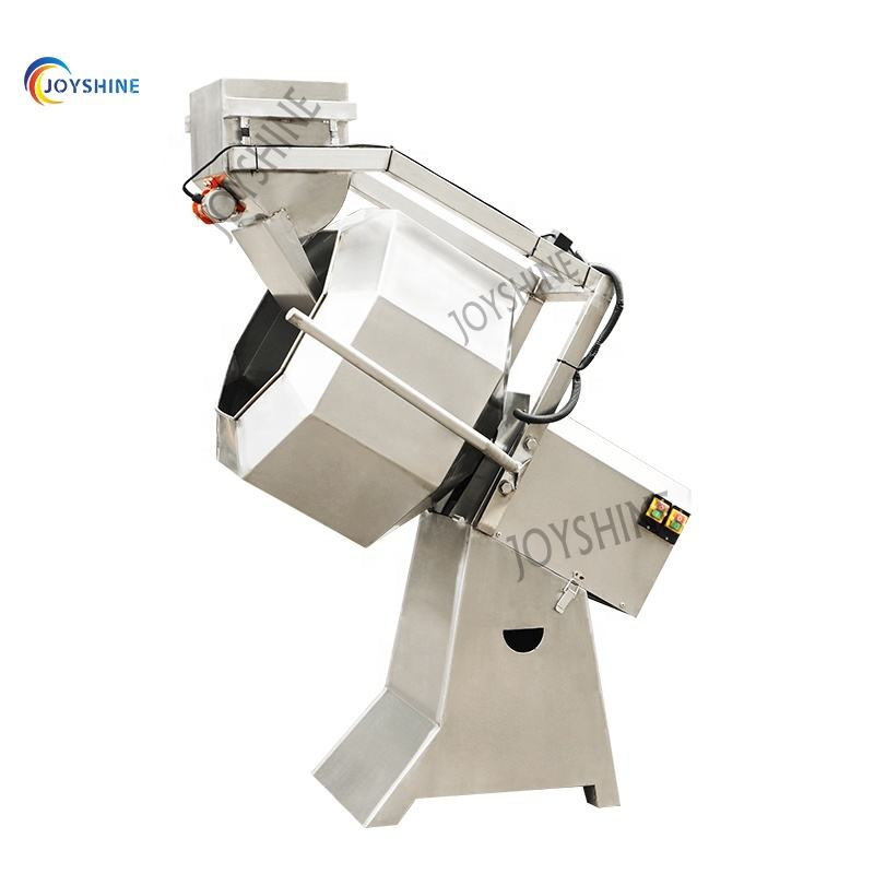 small snack food puff corn potato chips flavoring mixer machine seasoning machine