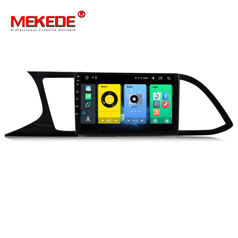 MEKEDE C500 Android10 8Core 4 + 64G Car <span class=keywords><strong>DVD</strong></span> reproductor Multimedia para seat leon 2012-2020 RDS Video Radio Stereo SWC GPS WIFI IPS DSP