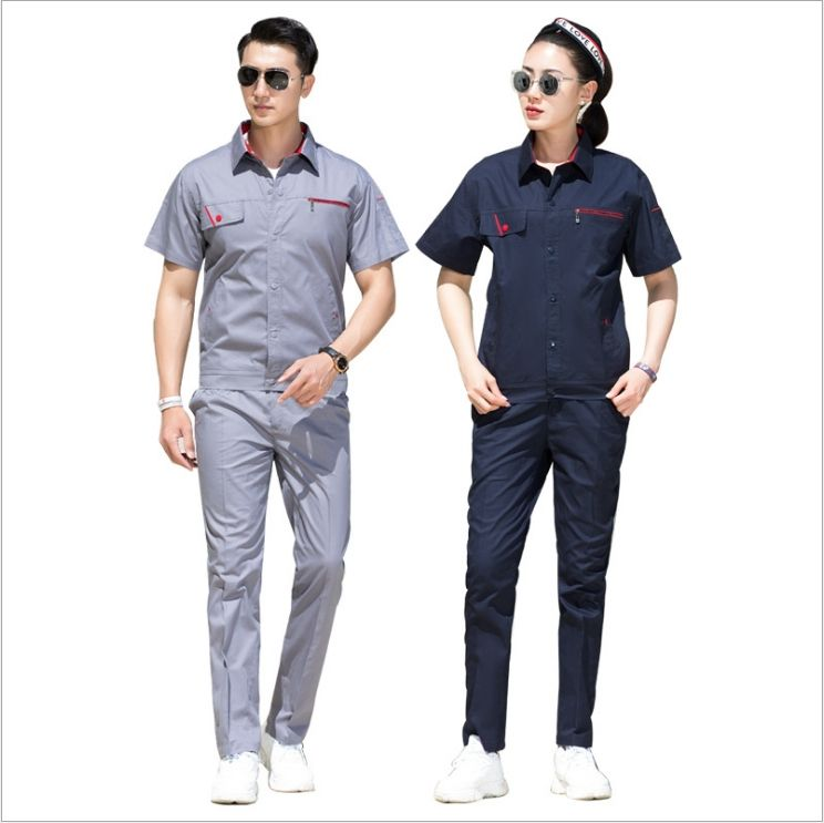 FACTORY CUSTOMIZED GOOD QUALITY UNISEX UNIFORMS WORK CLOTHES SET