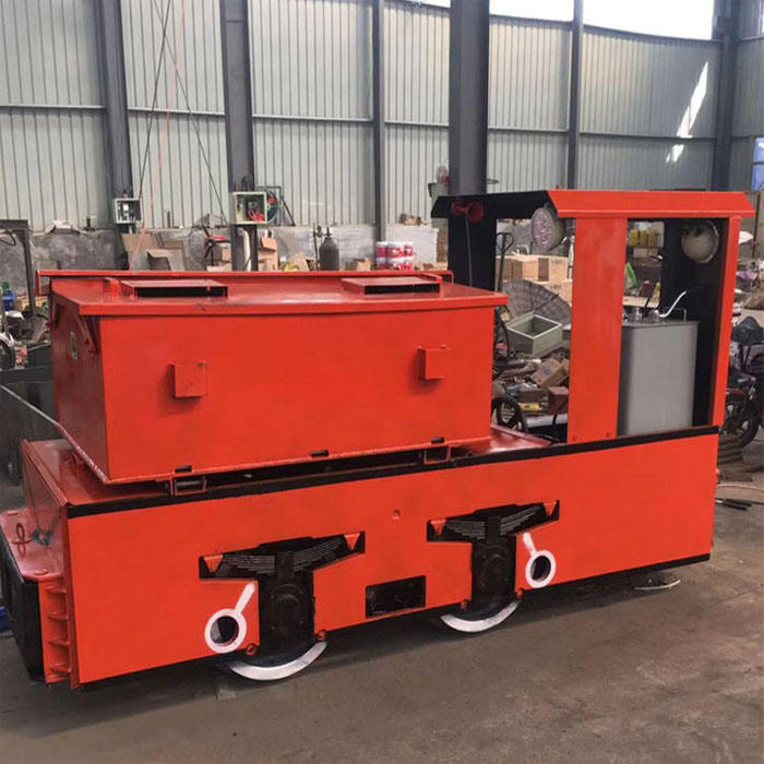 2.5T 5T Tunnel Battery Operated Mining Locomotiva Elettrica