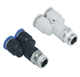 PX series Y type Pneumatic male Thread Direct Way quick connecting Pipe Tube Fitting