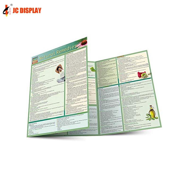 Advertising Custom Design Leaflet Offset Paper Matt Glossy Lamination Printing