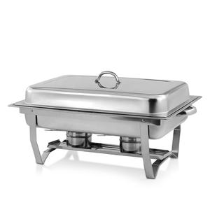 Wholesale Wedding Catering Indian Stainless Steel Buffet Food Warmer Chafing Dish