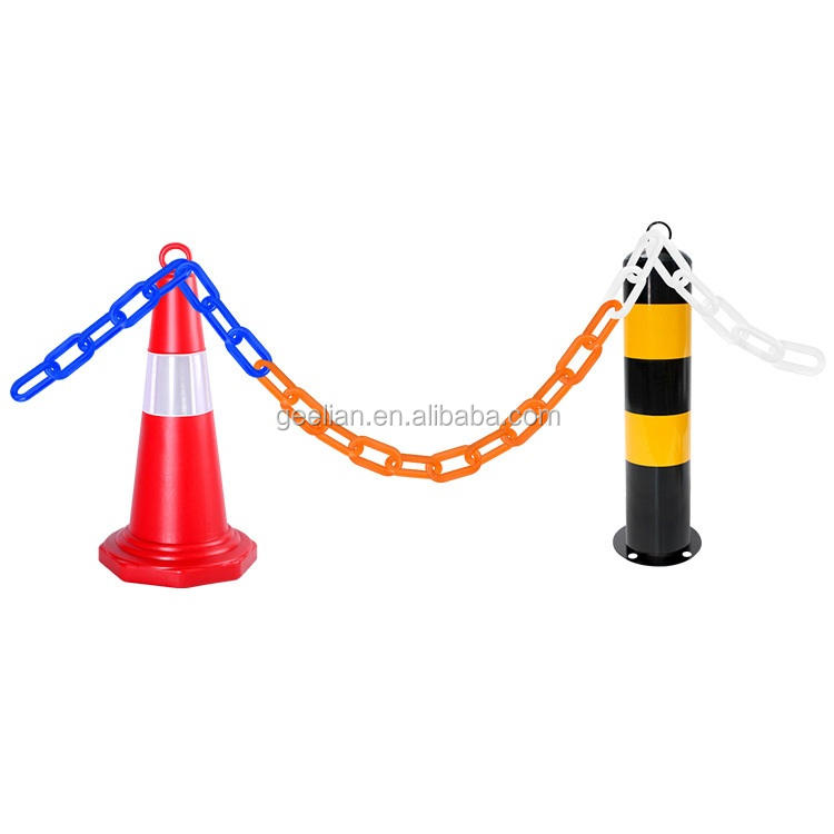 GEELIAN popular time proof 6mm and 8mm Plastic Traffic Safety Chain