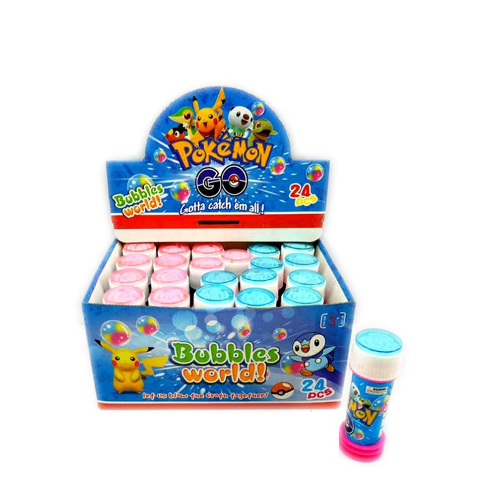 Promotional mini bubble toys soap bubble with maze game