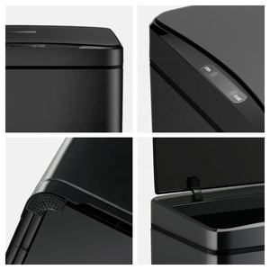 42L Automatic Auto Sensor smart Dustbin touchlesse household kitchen Trash can Garbage Waste Dust rubbish bin steel metal design