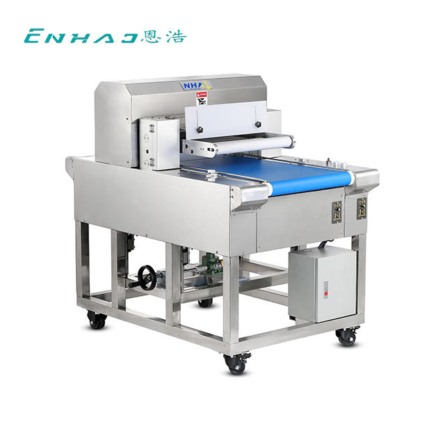 Stainless Steel Automatic Bread Cutting/Slicing Machine/Hamburger Bun Slicer