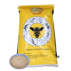Bee feed pollen substitutes for bees