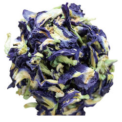 Butterfly pea dried flowers