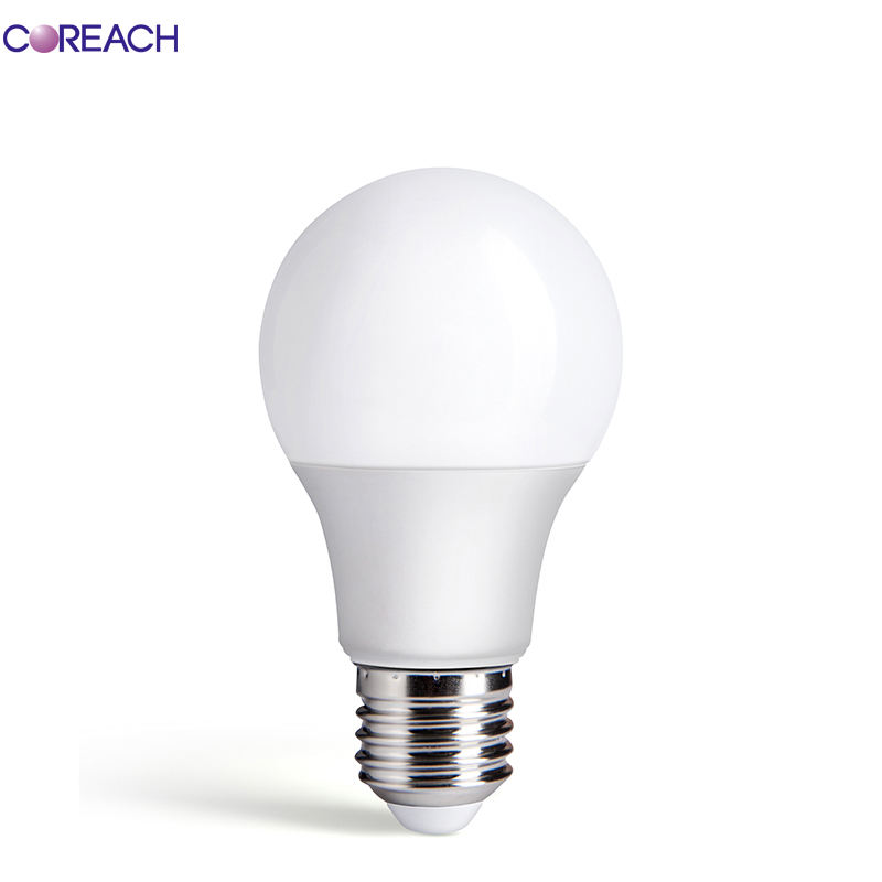 Pc Cover Aluminium Body Led Lamp Leverancier 9W A19 810LM Indoor Intelligente Controle Goedkope Led Lamp Verlichting <span class=keywords><strong>E26</strong></span> <span class=keywords><strong>E27</strong></span> ul Ce