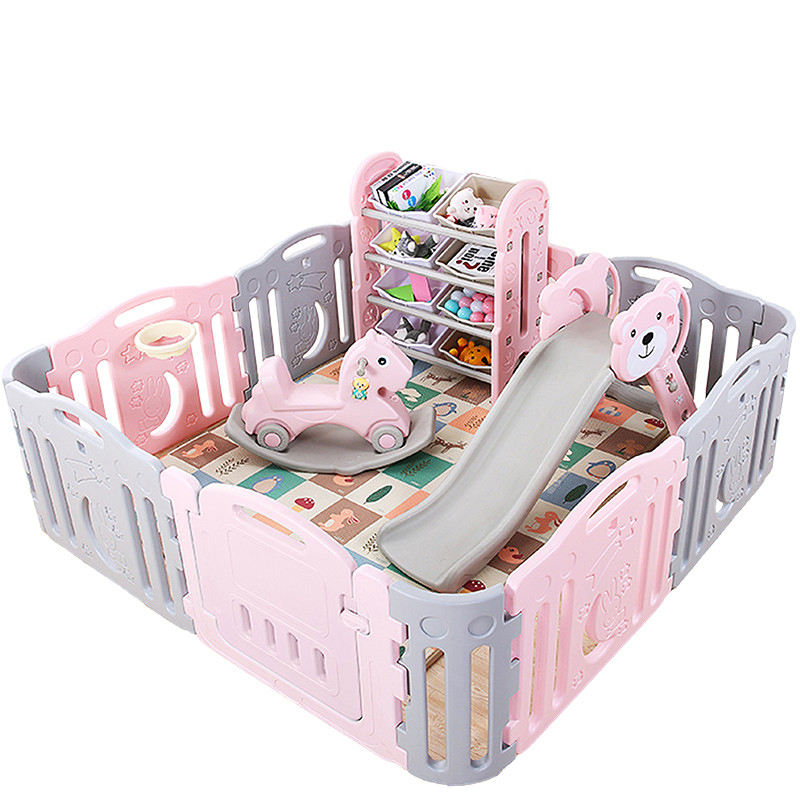 Feelkids new style indoor playground plastic baby playpen
