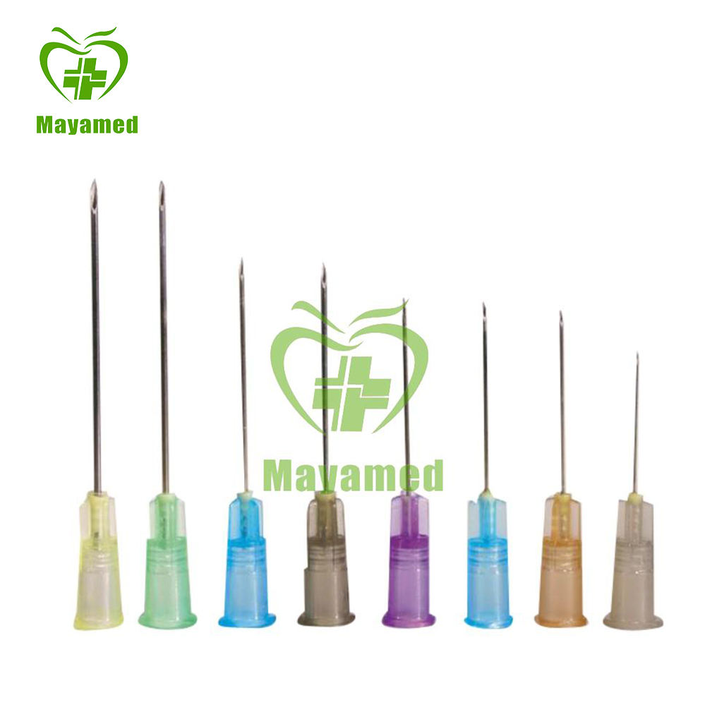 The Newest Disposable Side Hole Saline Multi Injection Needle Length G18 G16
