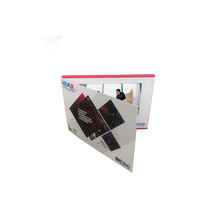 "Custom full 10"" lcd video brochure for presentations digital advertising with TFT LCD Screen"