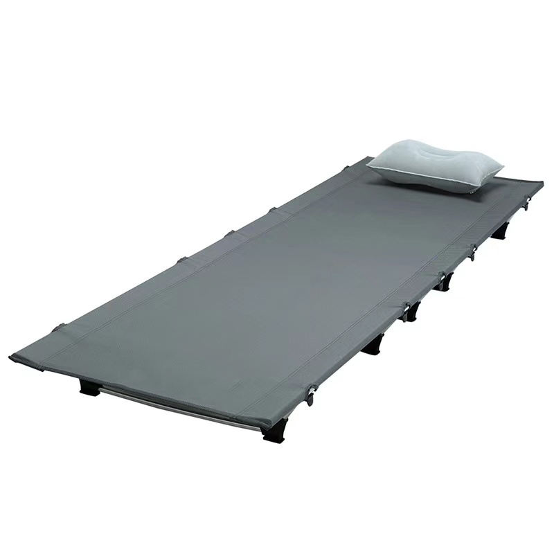 Fabrik Folding Camping Cot <span class=keywords><strong>Leichte</strong></span> Kompakte Tragbare Outdoor Bett Komfortable Schlaf Cots