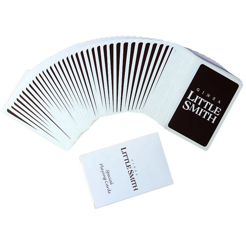 Factory Custom Jumbo Plastic Game Card Printing Solitaire Card Games