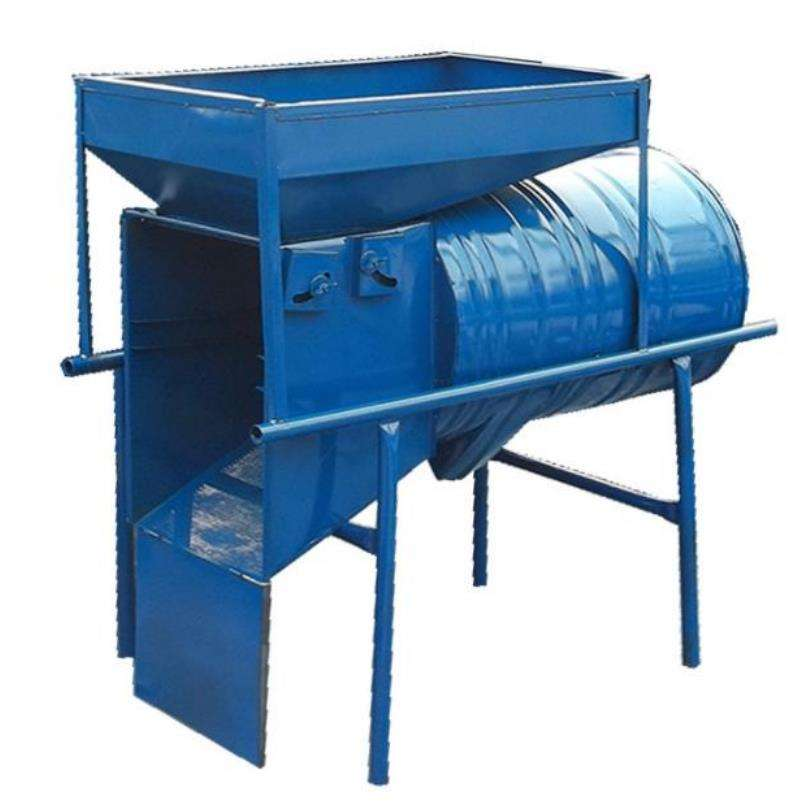 Cocoa Bean RIce Wheat Sesame Sunflower Seed Grain Winnower Separating Cleaner Machine