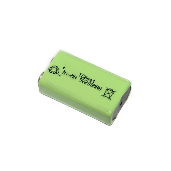 Rechargeable battery Ni-MH 9V 250MAh Battery For Interphone Smoke Alarm