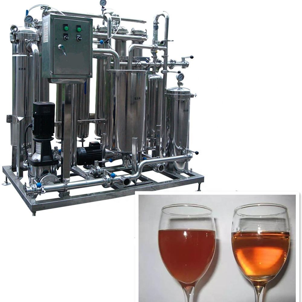 Stainless steel filter manufacturing equipment wine filter machine