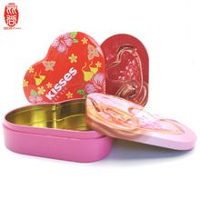 Small Metal Packaging Box Wedding Candy Gift Tin Box
