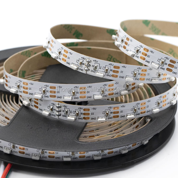Dotstar 4mm*2mm chip sk6812 ws2812b rgb 4020 smd led flexible strip