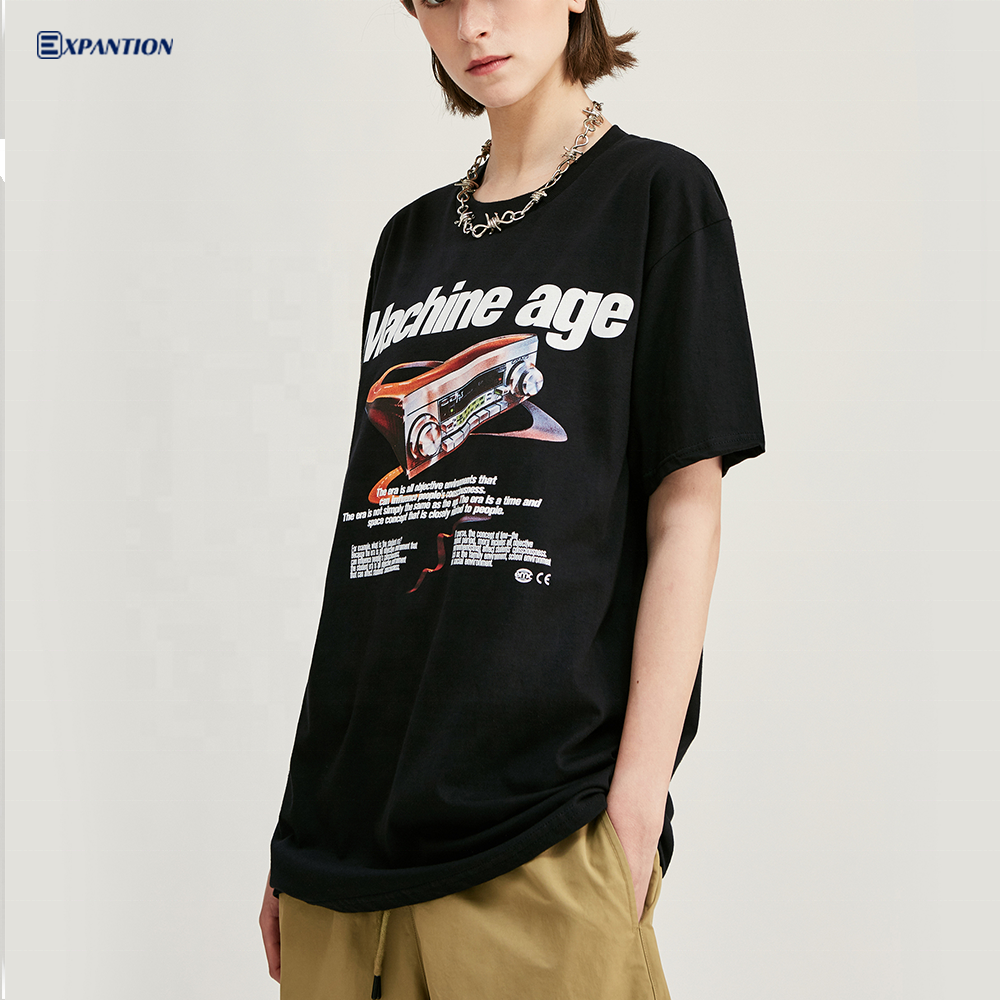 EXP Wholesale New Arrivals Custom Graphic Men Tshirt Summer Back Casual Streetwear T shirt