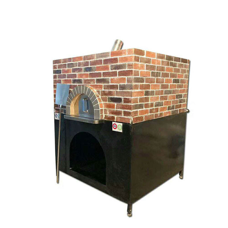 Commercial manual brick pizza oven outdoor wooden/gas stone pizza oven