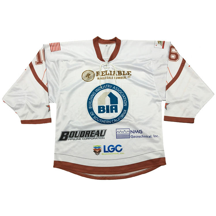Custom made sublimation american hockey jerseys, ice hockey sportswear, hockey apparel